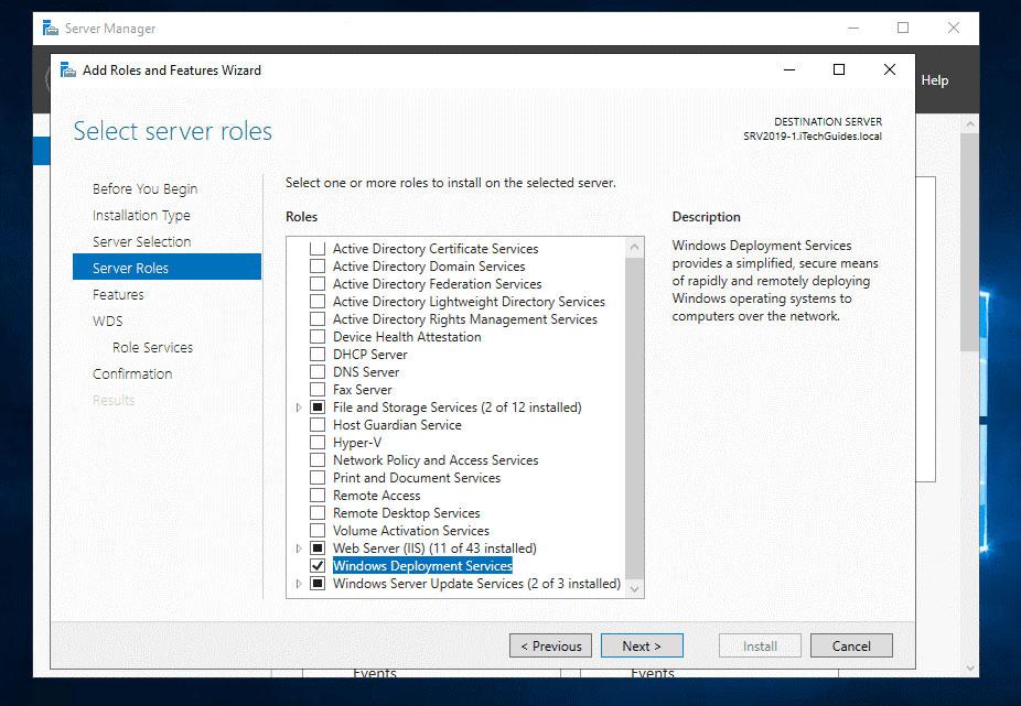 Windows Deployment Services در ویندوز سرور 2016 چیست؟
